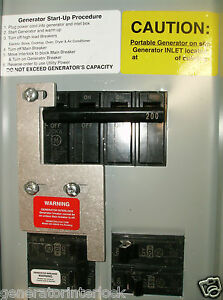 Ge 200hda General Electric Generator Interlock Kit 150 200 Amp Panels Listed