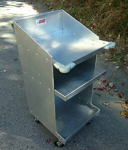 Aluminum Scale Storage Cart Dirt Drag Nhra Race Car Scale Scales Sprint Modified