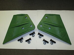 Esco Ce17748 3l Ce17748 3r Sidecutters And 6 Of 875 x300 plow Bolts And 6nuts