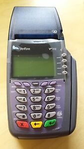 Verifone Vx510 33 naa Credit Card Terminal With Power Supply And 1yr Warranty