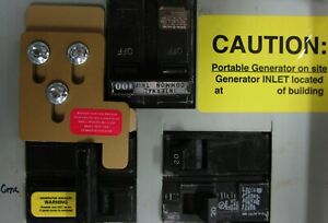 Mur 100x Murray Siemens Generator Interlock Kit 100 Amp Panel Transfer Switch