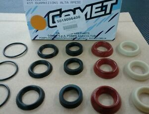 Comet Zwd Series Pressure Washer Pump Seal Kit New