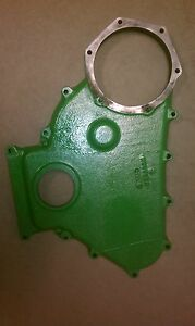 John Deere 5020 Timing Cover Ar36057 Marked R36655 Used