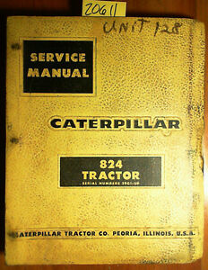 Caterpillar 824 Tractor S n 29g1 Service Manual 1 64