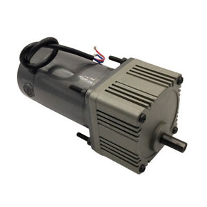 Dc Gear Motor With Speed Reducer 24vdc 180rpm 70w High Torque Output