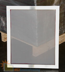 4 Pack 20x24 Aluminum Frame Size 156 White Mesh Silk Screen Printing Screens