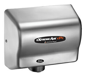 American Dryer Cpc9 ss Extreme Air Hand Dryer Cold Plasma Kills Germs Steel