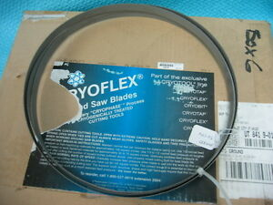 Cryoflex Bandsaw Blade 3 4 10 10 14 Tpi New In Box