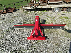 7 Foot 3 Point Hitch Back Blade Three Point Scraper Blade