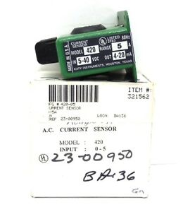 Katy Instruments A c Current Sensor 420 Range 5 A In 5 40 Vdc Out 4 20ma