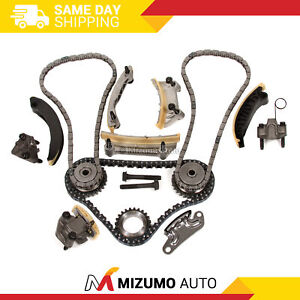 Timing Chain Kit Fit 04 06 Buick Cadillac Cts Srx Sts Saab Suzuki 3 6l Dohc 24v