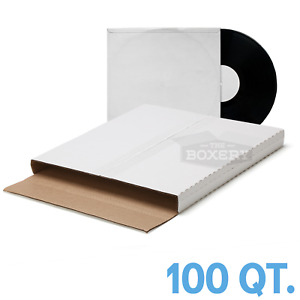 100 Premium Lp Vinyl Record Album Book Or Box Mailers