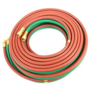 Twin Welding Hose Grade T 25 X 1 4 Oxygen Propane 25 1 4 Bb Connection