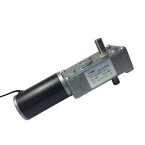 Miniature Dc Worm Gear Motor 12vdc 3rpm With Gear Reducer accept Special Design