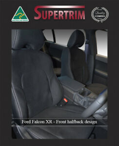 Ford Falcon Bf fg ba Xr6 xr8 Front Waterproof Seat Covers 100 Fit Guaranteed