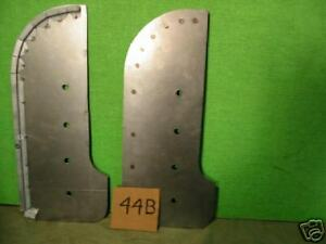 Jaguar Xk 120 140 Xk120 Xk140 Rear Mud Shields Pair x44b
