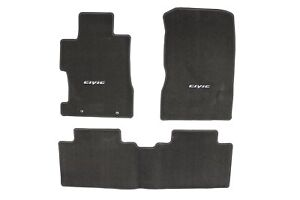 Genuine Honda Oem Civic Sedan Gray Carpet Floor Mat Set 08p15sna120b