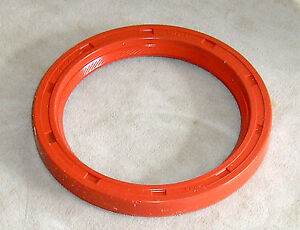 Vw Crankshaft To Flywheel Seal German Elring Red Silicone Beetle 113 105 245fs