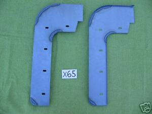 Jaguar Xk 120 Xk120 Front Mud Shield Pair x65
