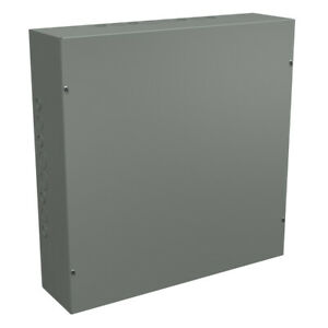 24x24x6 Steel Electrical Enclosure Box Nema 1 Contactor Cover 24 Inch 6 Deep