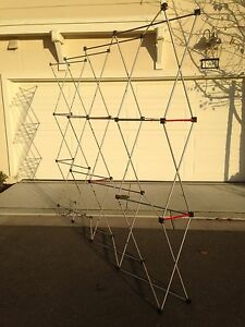Reduced Brand New 10ft Pop Up Straight flat Trade Show Display Frame