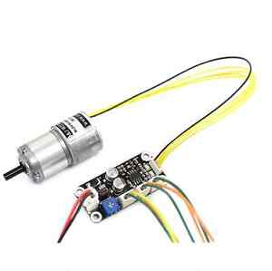 Bldc Gear Motor 1 4 Reduction 1325rpm Dc 24v 2 5w With Controller
