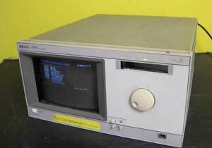 Hp Hewlett Packard Model 16500b Logic Analysis System 16500 b Used Condition