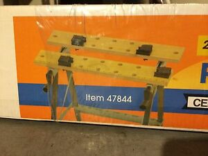 Central Machinery Foldable Workbench With Vise new