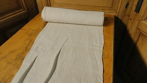 Homespun Linen Hemp Flax Yardage 8 Yards X 18 Plain 4727