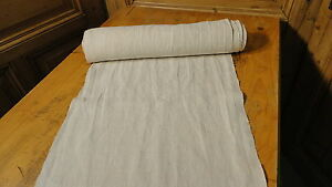 Homespun Linen Hemp Flax Yardage 8 5 Yards X 18 Plain 4729