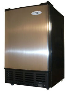 Sunpentown Spt 12 Lbs Stainless Steel Undercounter Ice Maker Im 150us