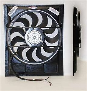 1955 57 T Bird Electric Fan And Shroud Combination W Fan Controller Cci 1770