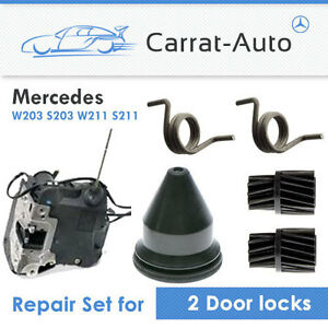 Mercedes C E Class W203 W211 Door Lock Repairkit Double Set For 2 Locks