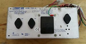 5 Volt 12 Volt 15 Volt Power Supply Made By Power One 6 Amps 5 Volts