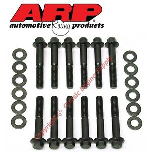 New 154 2001 Arp Intake Manifold Bolt Set Ford Sb 289 302 351w 6 Point Heads