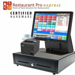 Pcamerica Rpe Point Of Sale System Pos Package Elo 15e3 All in one New