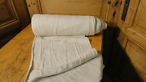 Homespun Linen Hemp Flax Yardage 16 5 Yards X 17 Plain 4714