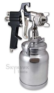 High Pressure Spray Gun Sprays Lacquer Latex Primer Stains Urethane Painting