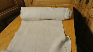 Homespun Linen Hemp Flax Yardage 10 Yards X 18 Plain 4704