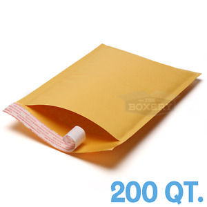 200 1 Kraft Bubble Padded Envelopes Mailers 7 25 X 12