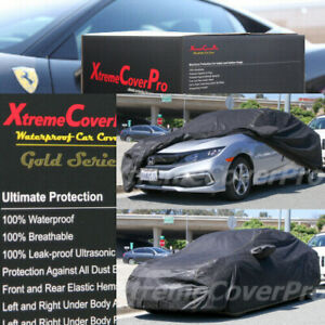 1995 1996 1997 Honda Civic Sedan Coupe Waterproof Car Cover Black W mirrorpocket