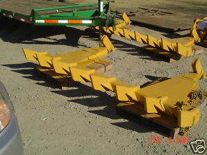dozer blade root rake 100quot; wide 990 lbs AR400 steel NEW USA Attachments $2767.80