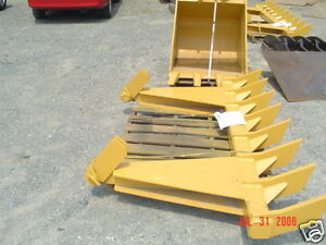 dozer blade root rake 116quot; wide 1120 lbs AR400 steel NEW USA Attachments $3110.10