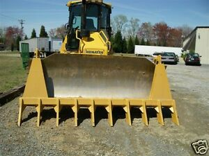 dozer blade root rake 120quot; wide 1550 lbs AR400 steel NEW USA Attachments $3958.50