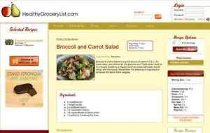 Healthygrocerylist Website And Application For Sale