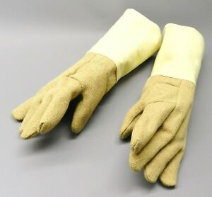 Gloves High Temperature Protection Heat Resistant Glove Pbi 18 Pair Rated 1400f