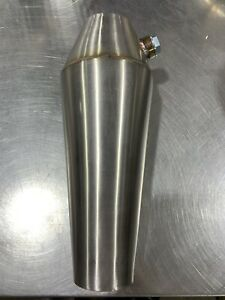 1320 Perf Fab 2 5 Inch Megaphone For Custom Header Exhaust Build Race Gsr Si