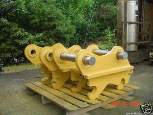 Quick Coupler For 39000 49000 Lb Excavator New Usa Attachments
