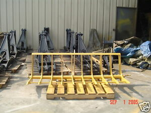 Pin On Backhoe Rake Fits Directly On Bucket New Usa Attachments
