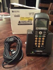 Handheld Hand Held Products Dolphin Laser Barcode Scanner